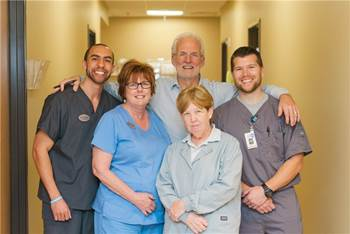 the team at hhi orthopedics